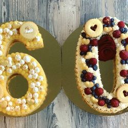 Number cake 2 chiffres 45,00€